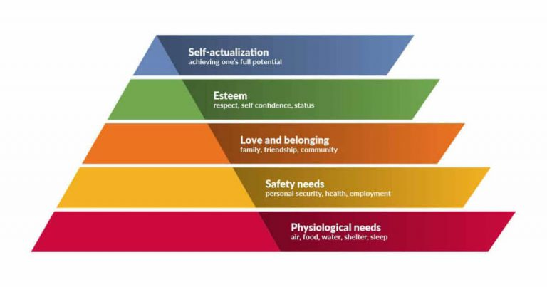 MASLOW'S NEEDS AND WANTS