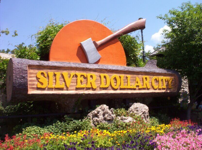 SILVER DOLLAR CITY SIGN